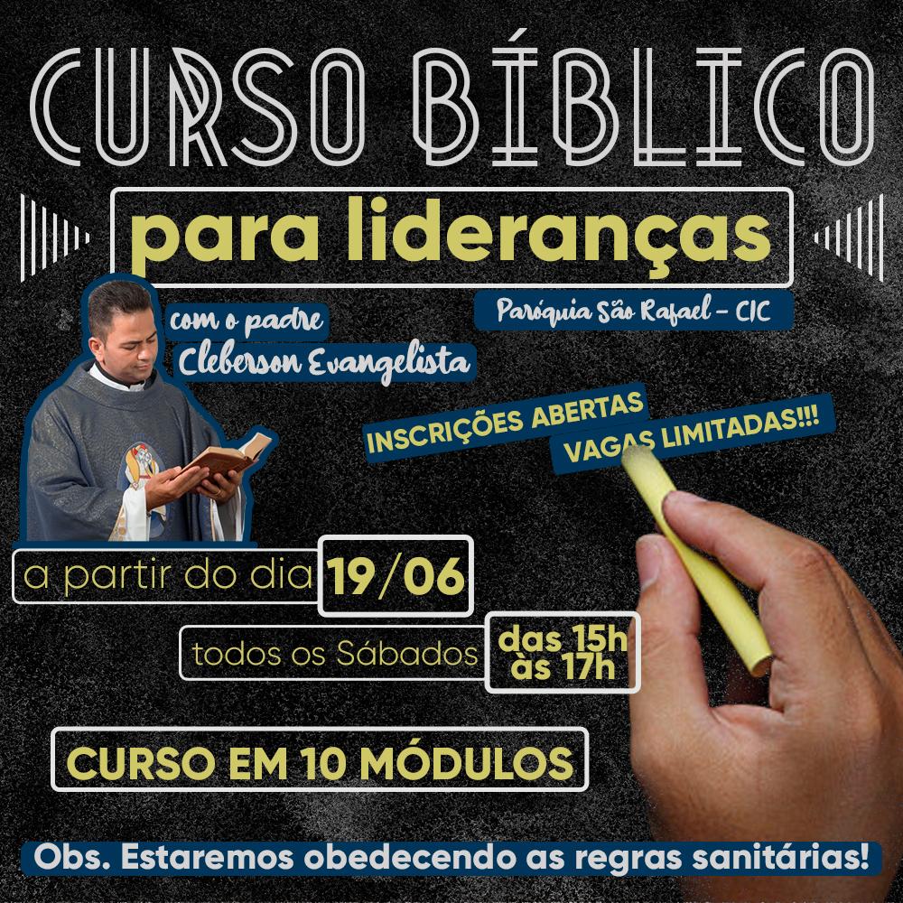 Curso Bíblico para lideranças da paróquia São Rafael