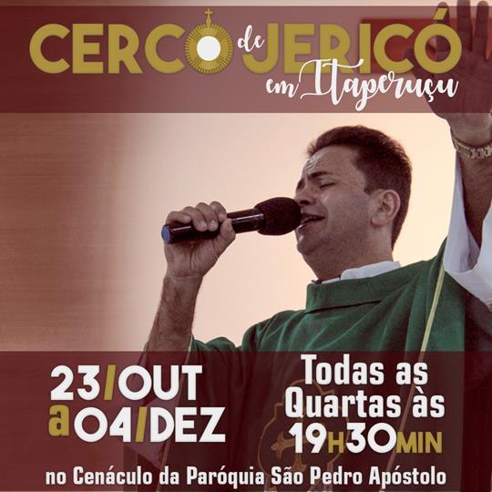 Cerco de Jericó em Itaperuçu - Amanhã é o Sexto dia com o padre Cleberson Evangelista