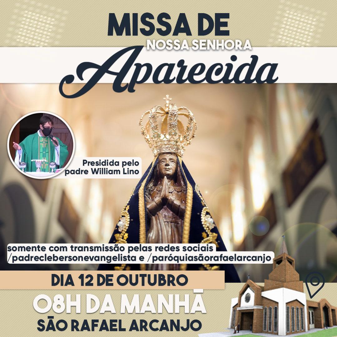 Transmissão da Missa de Nossa Senhora Aparecida