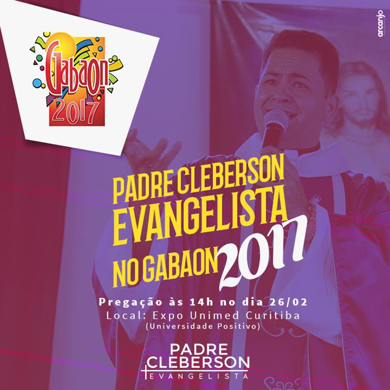 Padre Cleberson no Gabaon - Curitiba