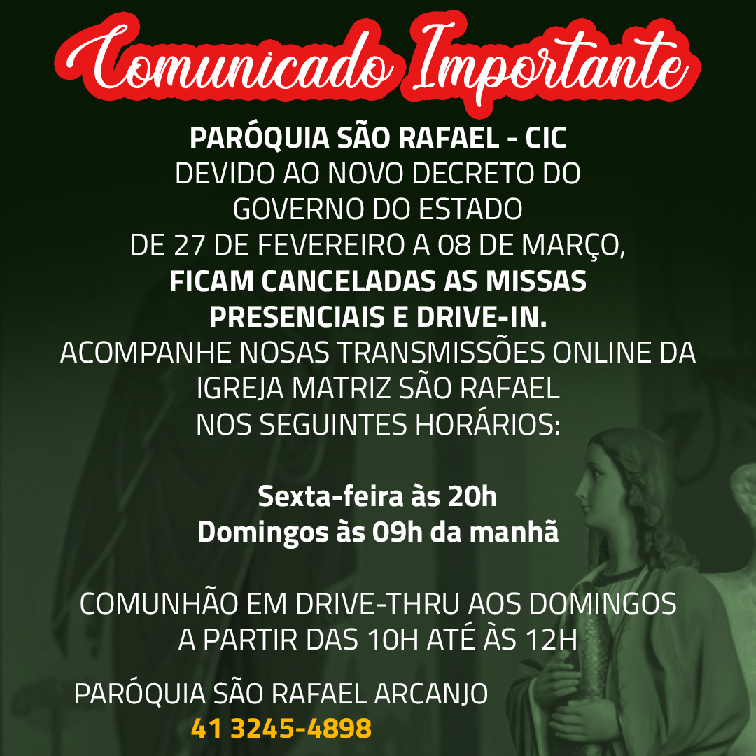 ATENÇÃO! Informações sobre o novo decreto do Governo do Estado do Paraná de 26/02