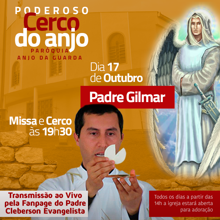 Quinto dia do Poderoso Cerco do Anjo - Com padre Gilmar