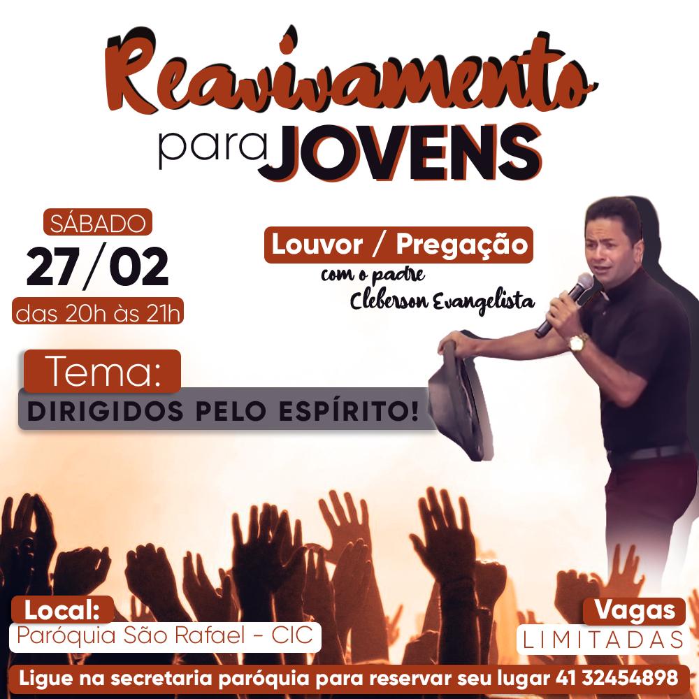 Reavivamento para Jovens na paróquia São Rafael Arcanjo