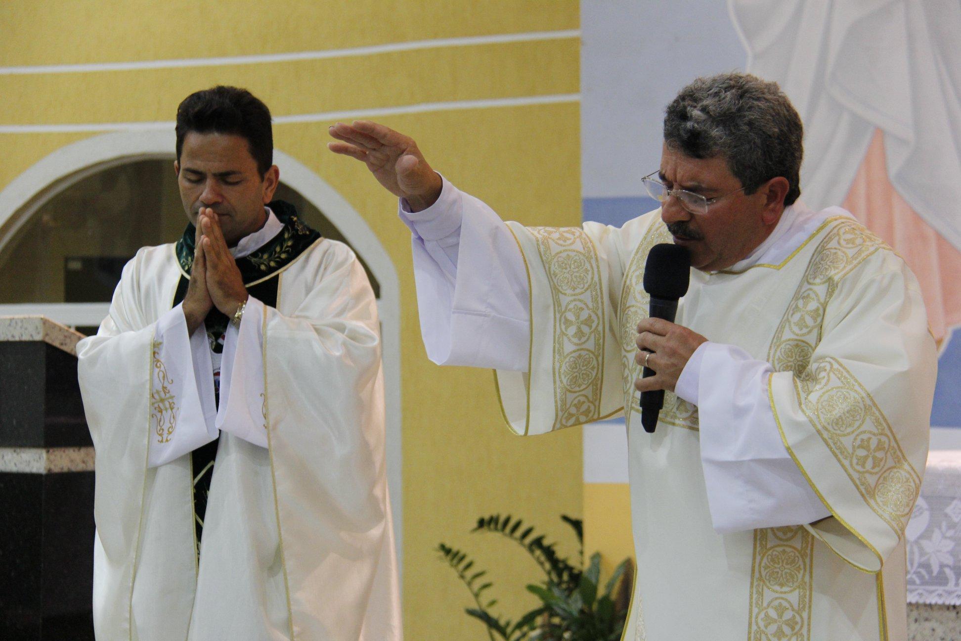 Missa de acolhida do Diácono José Valdir