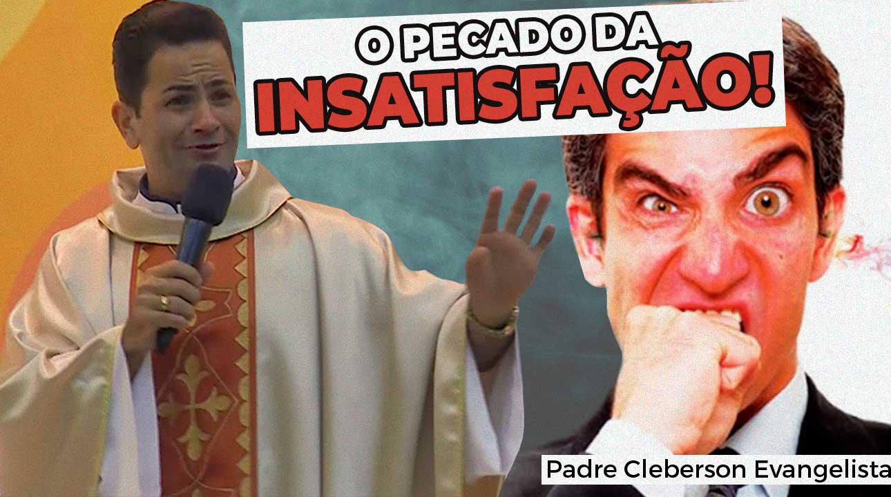 Nova pregação do padre Cleberson Evangelista no Youtube